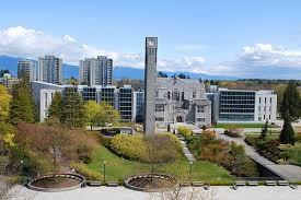بورسیه فوق لیسانس دانشگاه  British Columbia کانادا